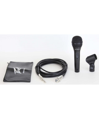 PEAVEY PVI 2 BLACK MICROPHONE 1/4 CABLE