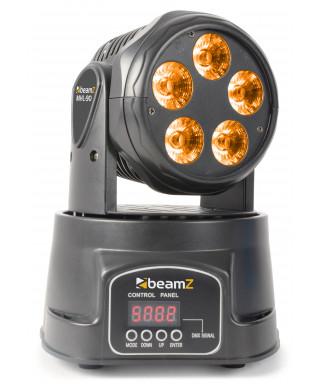 BEAMZ MHL90 Wash 5x18W 6in1 DMX RGBWA-UV