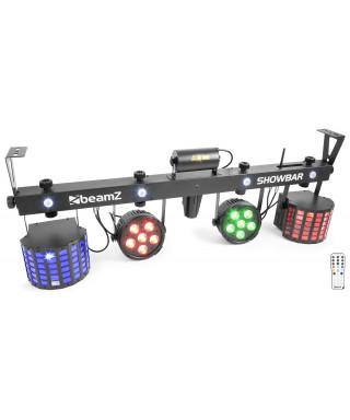 BEAMZ ShowBar 2xPar 6x4 in1 2xDerby,Laser R/G DMX