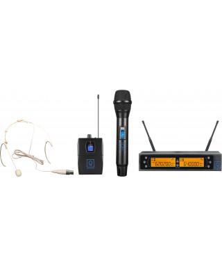 OQAN QWM-2 Dual Combo ( HH + Earset ) 470-494 Mhz FR