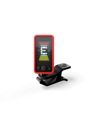 ECLIPSE TUNER RED Chromatic Headstock Tuner