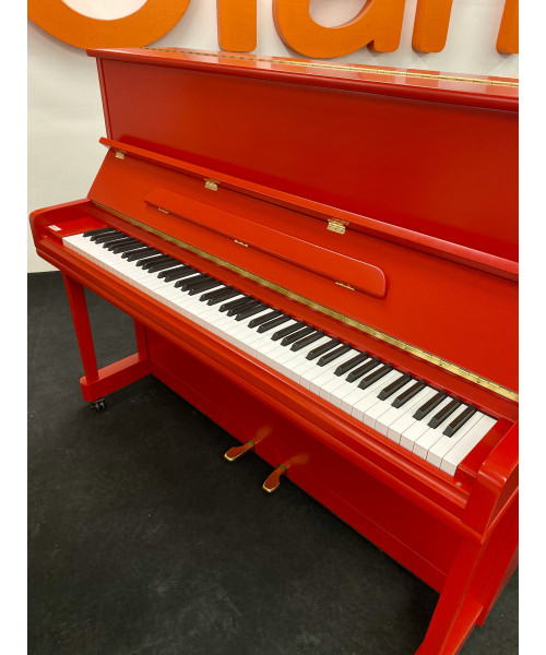STEINER BSJ-121M PIANOFORTE VERTICALE ROSSO SATINATO