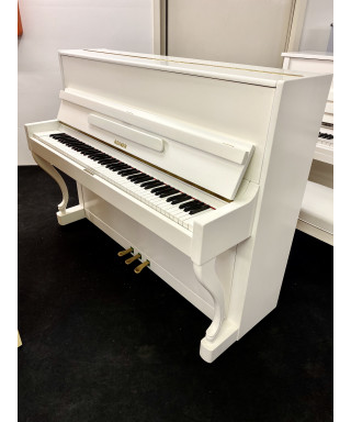 REINER PIANOFORTE VERTICALE BIANCO SATINATO