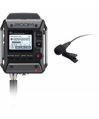 Zoom F1-LP - field recorder + Microfono lavalier