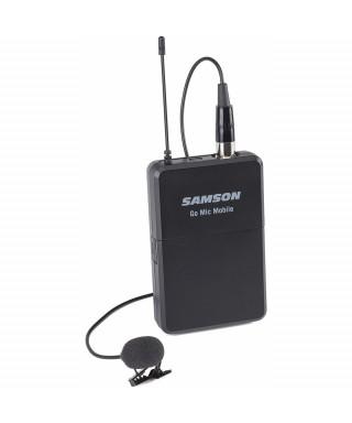 Samson LM8 - Microfono lavalier con trasmettitore per Go Mic Mobile