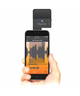 IK Multimedia iRig MIC Field - Microfono panoramico per iPhone, iPad e iPod touch
