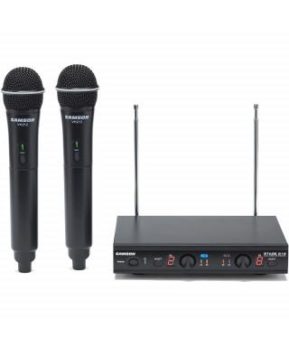 Samson STAGE 212-E VHF Dual Handheld System