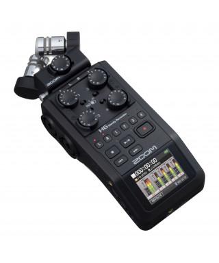 Zoom H6-BLK - registratore 6 tracce - interfaccia USB - Black Edition