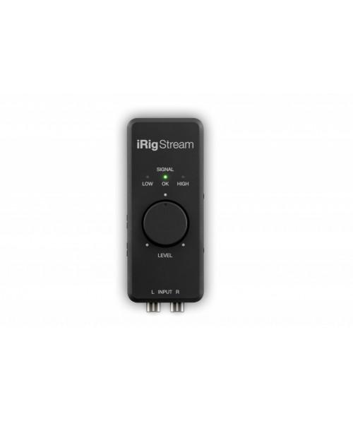 IK Multimedia iRig Stream - Interfaccia audio per streaming