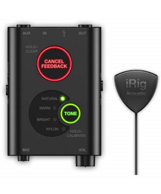 IK Multimedia iRig Acoustic Stage - Digital Microphone System per chitarra acustica