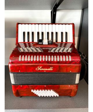 Serenelli Y-4826-R Fisarmonica 48 bassi