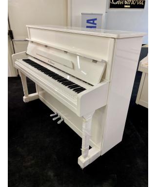 PIANOFORTE VERTICALE W. GÖTZMANN BIANCO LUCIDO