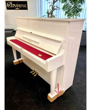 PIANOFORTE VERTICALE YAMAHA U1 BIANCO LUCIDO