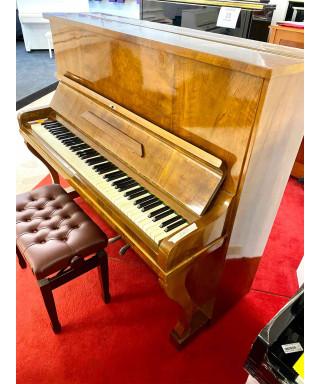 PIANOFORTE VERTICALE GERBSTADT NOCE + PANCA