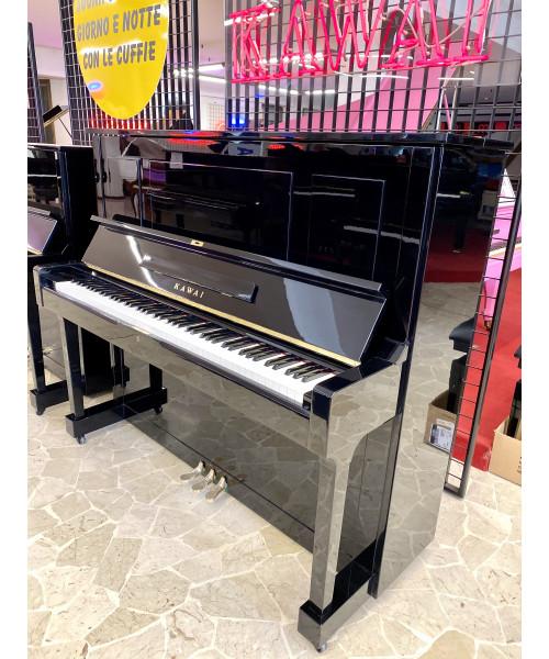 PIANOFORTE VERTICALE KAWAI NERO LUCIDO.
