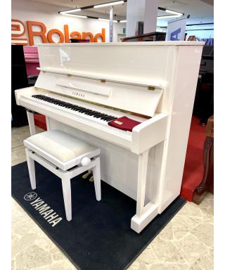 PIANOFORTE VERTICALE YAMAHA MOD. B2 SILENT BIANCO