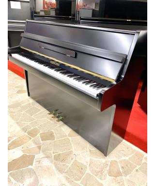 PIANOFORTE VERTICALE HUBSCHEN NERO SATINATO