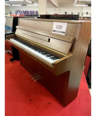 PIANOFORTE VERTICALE HUBSCHEN NOCE SATINATO