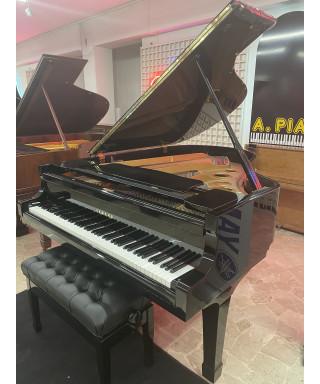 PIANOFORTE MEZZA CODA YAMAHA MOD. C3 NERO LUCIDO