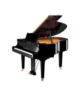 PIANOFORTE MEZZA CODA YAMAHA MOD. GC1M PE NERO LUCIDO
