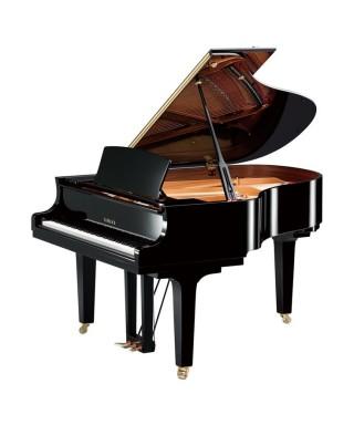 PIANOFORTE MEZZA CODA YAMAHA MOD. C2XPE NERO LUCIDO