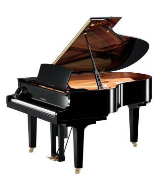 PIANOFORTE MEZZA CODA YAMAHA MOD. DC3XENPROPE NERO LUCIDO