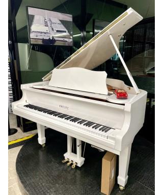PIANOFORTE MEZZA CODA KREUTZ Mod. GP-155 BIANCO LUCIDO + KIT SILENT