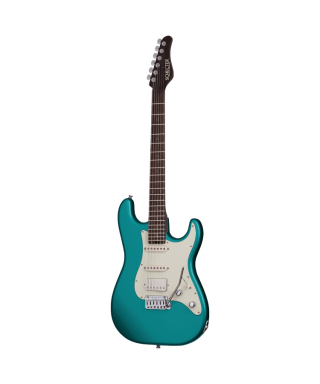 SCHECTER TRADITIONAL WEMBLEY NICK JOHNSTON TEAL GREEN