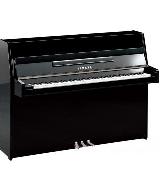 PIANOFORTE VERTICALE YAMAHA MOD. B1 PEC NERO LUCIDO PARTI CROMATE