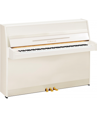 PIANOFORTE VERTICALE YAMAHA MOD. B1 PWH BIANCO LUCIDO