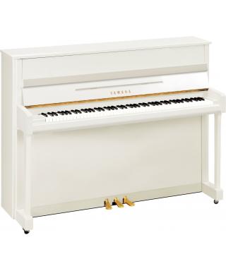 PIANOFORTE VERTICALE YAMAHA MOD. B2EPWH BIANCO LUCIDO