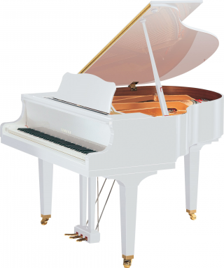 PIANOFORTE MEZZA CODA YAMAHA MOD. GB1KPWH BIANCO LUCIDO