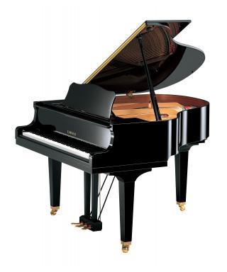 PIANOFORTE MEZZA CODA YAMAHA MOD. GB1KPE NERO LUCIDO
