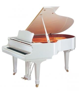 PIANOFORTE MEZZA CODA YAMAHA MOD. GC1MPWH BIANCO LUCIDO
