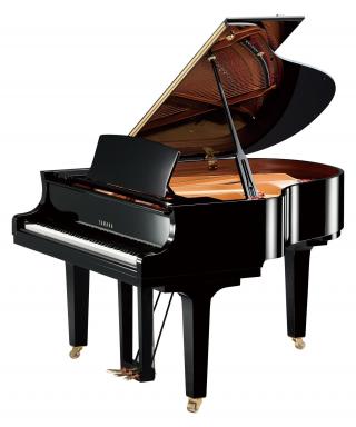 PIANOFORTE MEZZA CODA YAMAHA MOD. C1XPE NERO LUCIDO