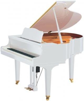 PIANOFORTE MEZZA CODA YAMAHA MOD. DC3ENPROPWHX BIANCO LUCIDO