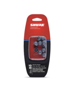 SHURE EASFX1-10L RICAMBI IN-EAR AURICOLARI LARGE GRIGI