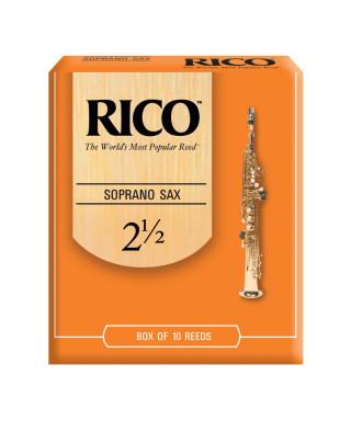 CONF. 10 ANCE RICO RIA1025 SAX SOPRANO 2,5