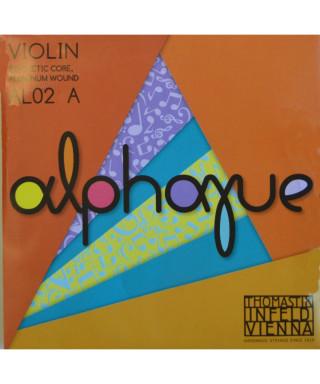 CORDA THOMASTIK ALPHAYUE VIOLINO 4/4 AL02 LA II