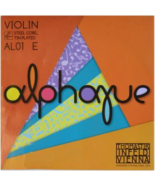 CORDA THOMASTIK ALPHAYUE VIOLINO 4/4 AL01 MI I