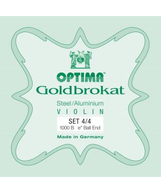 SET OPTIMA GOLDBROKAT 1000 B VIOLINO 4/4