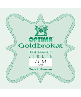 CORDA RE OPTIMA GOLDBROKAT 1003 PER VIOLINO 4/4