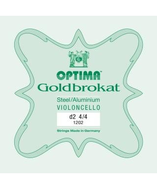 CORDA RE OPTIMA GOLDBOKAT 1202 PER VIOLONCELLO 4/4