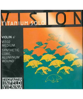 CORDA THOMASTIK VIOLINO VISION TITANIUM SOLO VIT02 LA 4/4
