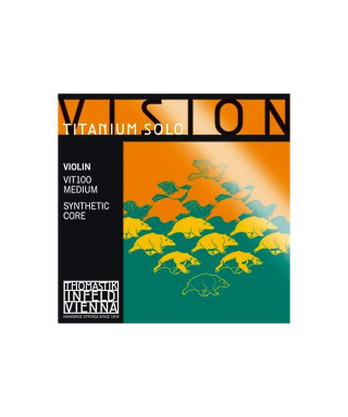 CORDA THOMASTIK VIOLINO VISION TITANIUM SOLO VIT01 MI 4/4