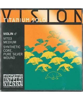 CORDA THOMASTIK VIOLINO VISION TITANIUM SOLO VIT03 RE 4/4