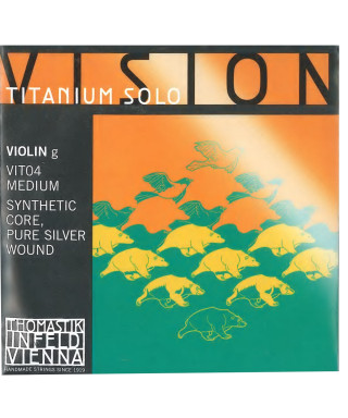 CORDA THOMASTIK VIOLINO VISION TITANIUM SOLO VIT04 SOL 4/4