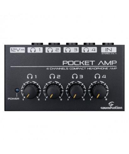 MINI AMPLIFICATORE PER CUFFIE SOUNDSATION POCKET-AMP