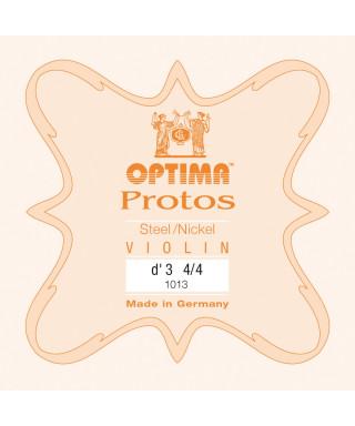 CORDA RE OPTIMA PROTOS 1013 PER VIOLINO 4/4