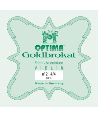 CORDA LA  OPTIMA GOLDBROKAT 1002 PER VIOLINO 4/4